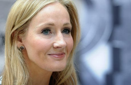 J K Rowling never gave up