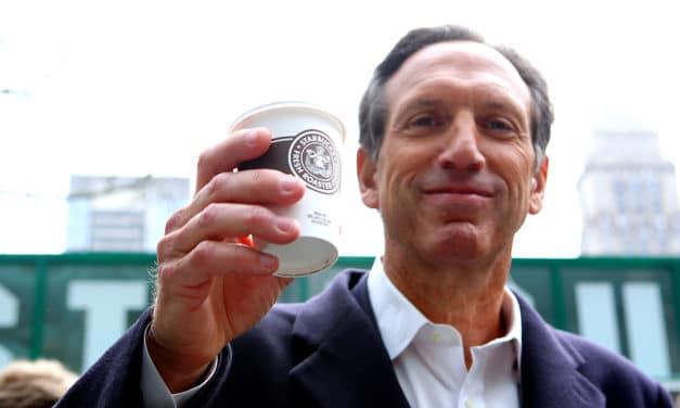 Howard Schultz never gave up
