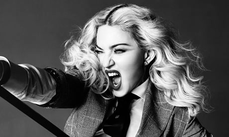 Madonna never gave up