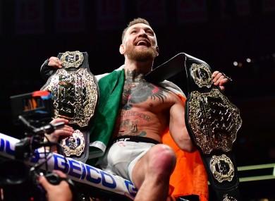 Conor-McGregor-UFC-Champion