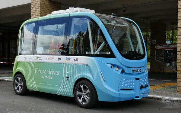 Driverless Bus Victorian First