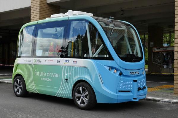 Driverless Bus Victorian First